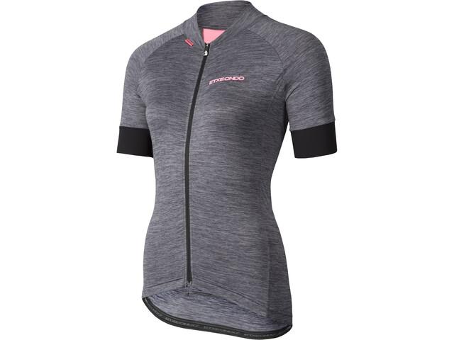 Etxeondo Terra SS Jersey Dame grey-pink